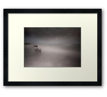 Wave Watching-Guileen Co Cork Ireland Framed Print