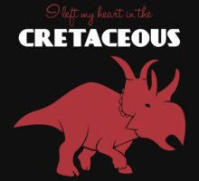 I Left My Heart in the Cretaceous Kids Clothes