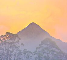 Mt Chincogan Sunrise by Stephanie Jensen
