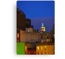 NYC Summer Night Canvas Print