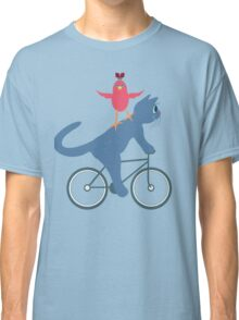 Three On A Bike - Ta Da! Classic T-Shirt