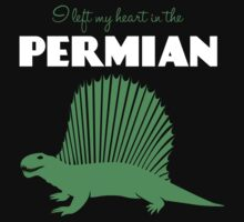 I Left My Heart in the Permian Kids Clothes