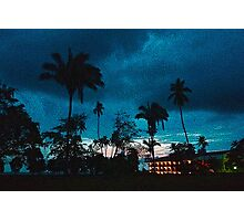 Dusk in Jaco Beach, Costa Rica Photographic Print
