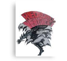 REDBUBBLE at NEW YORK COMIC CON Metal Print