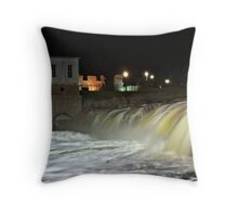 Soapy Falls Throw Pillow