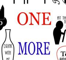 Les Miserables Quotes Sticker