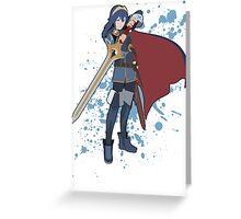 Lucina - Super Smash Bros Greeting Card