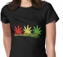 Good Plant Womens Fitted T-Shirt