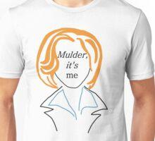 Mulder It's Me (transparent) Unisex T-Shirt