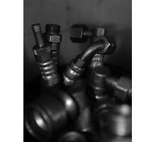 Steel Alignment  Photographic Print
