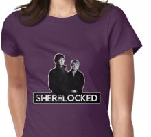 I AM LOCKED: SHERLOCKED Womens Fitted T-Shirt