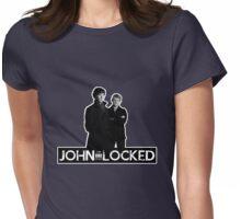 I AM LOCKED: JOHN-LOCKED Womens Fitted T-Shirt