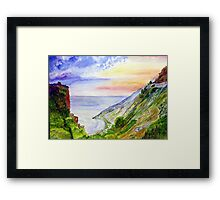 Sea Of Space Framed Print