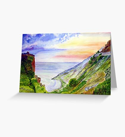 Sea Of Space Greeting Card