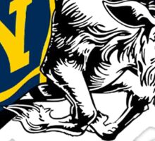 THE USNA Rampaging Goat! Sticker