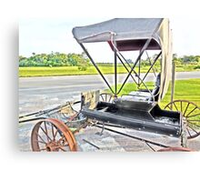 Buggy by the Road Canvas Print