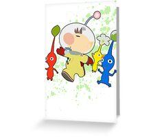 Olimar - Super Smash Bros Greeting Card