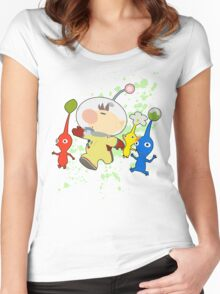Olimar - Super Smash Bros Women's Fitted Scoop T-Shirt