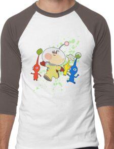 Olimar - Super Smash Bros Men's Baseball ¾ T-Shirt