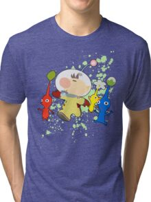 Olimar - Super Smash Bros Tri-blend T-Shirt