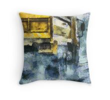 It's Raining Cats and Gogh's  Throw Pillow