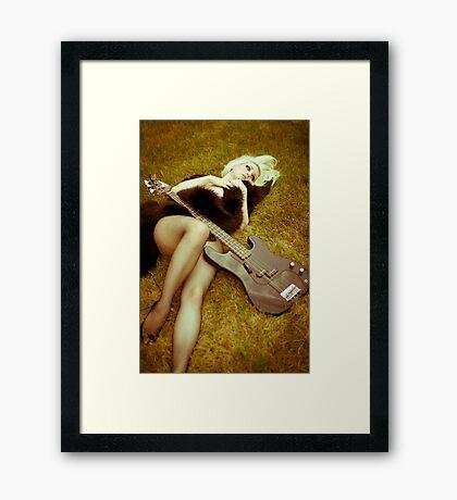 safe Framed Print