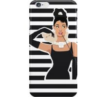 Breakfast with Audrey  iPhone Case/Skin