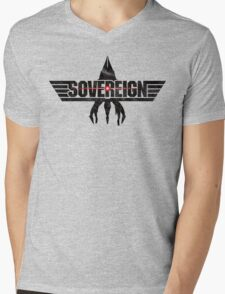 Top Sovereign Mens V-Neck T-Shirt