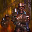 Hellfire troopers 001 by Karl David Hill