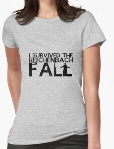 I Survived The Fall Womens Fitted T-Shirt