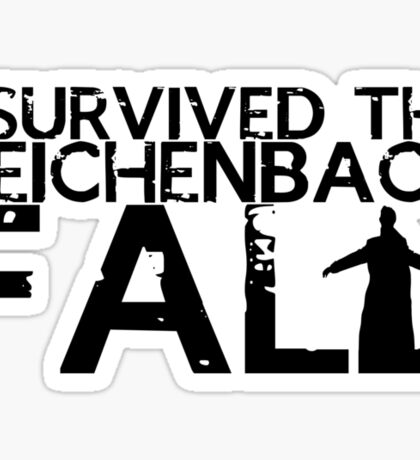 I Survived The Fall Sticker