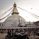 Boudhanath Stupa, Kathmandu, Nepal by Mooke