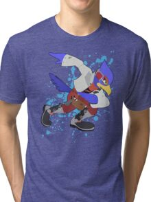 Falco - Super Smash Bros Tri-blend T-Shirt