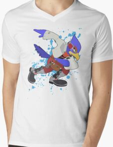Falco - Super Smash Bros Mens V-Neck T-Shirt