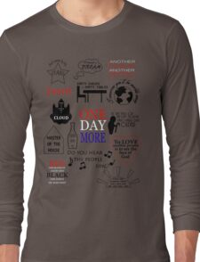 Les Miserables Quotes Long Sleeve T-Shirt
