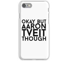 Aaron Tveit iPhone Case/Skin