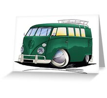 VW Splitty (11 Window) I Greeting Card