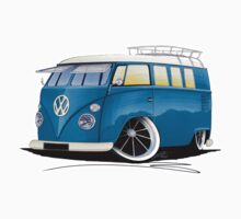 VW Splitty (11 Window) J Kids Tee