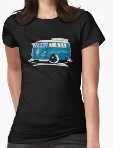 VW Splitty (11 Window) J Womens Fitted T-Shirt