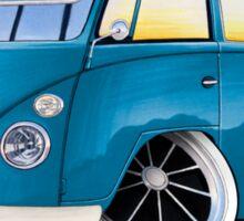 VW Splitty (11 Window) J Sticker