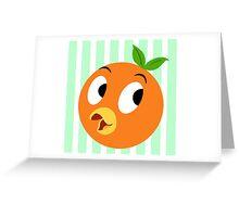 Lil Orange Bird Greeting Card