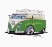 VW Splitty (11 Window) K by Richard Yeomans
