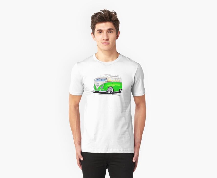 VW Splitty (11 Window) K by Richard Yeomans