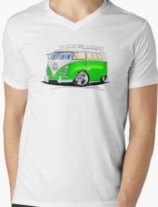 VW Splitty (11 Window) K Mens V-Neck T-Shirt