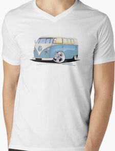 VW Splitty (11 Window) M Mens V-Neck T-Shirt