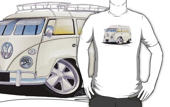 VW Splitty (11 Window) N by Richard Yeomans