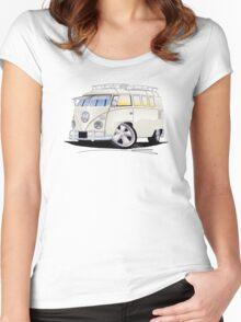 VW Splitty (11 Window) N Women's Fitted Scoop T-Shirt