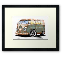 VW Splitty (11 Window) O Framed Print