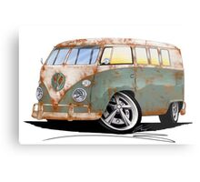 VW Splitty (11 Window) O Metal Print