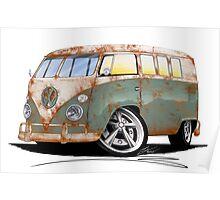 VW Splitty (11 Window) O Poster